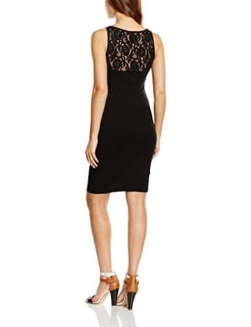 ONLY Damen Kleid 15118870, Schwarz (Black), 40 (Herstellergröße: L) -