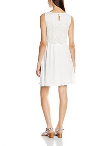 ONLY Damen Kleid Onlacer S/L Layer Dress Wvn, Weiß (Cloud Dancer), 38 -