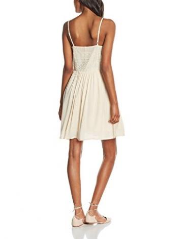 ONLY Damen Kleid onlADDY HEAVEN STRAP DRESS, Mini, Einfarbig, Gr. 42, Elfenbein (Whitecap Gray) -