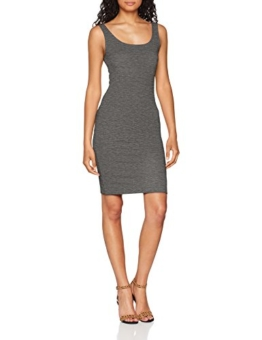 ONLY Damen Kleid onlBRENDA S/L Bodycon Dress JRS, Grau Medium Grey Melange, 40 (Herstellergröße: L) - 1