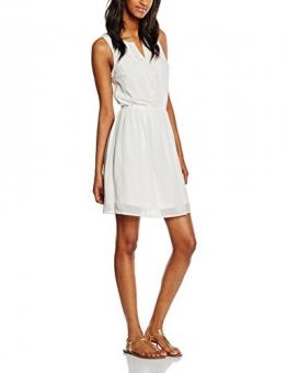ONLY Damen Kleid Onlcarol S/L Short Dress, Weiß (Cloud Dancer), 36 -