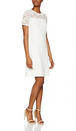 ONLY Damen Kleid Onlmace 2/4 Dress Jrs, Weiß (Cloud Dancer Cloud Dancer), 40 (Herstellergröße: L) -