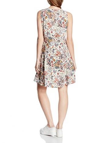 ONLY Damen Kleid Onlnova Bright Skater Dress Wvn, Mehrfarbig (Whitecap Gray Aop:Bright Autumn Flower), 34 -
