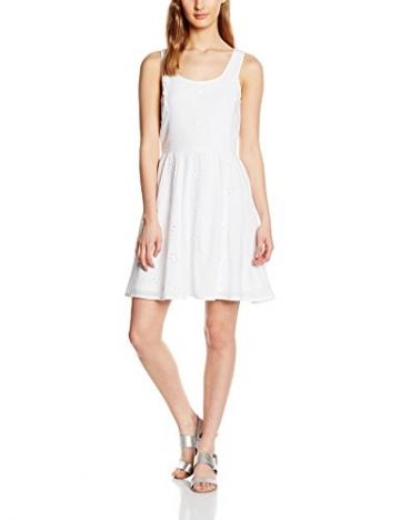 ONLY Damen Kleid Onlpaula Fairy S/L Dress Wvn, Weiß (Bright White), 36 -