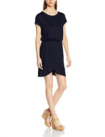 ONLY Damen Kleid Onlthelma S/S Dress Ess, Blau (Night Sky), 38 (Herstellergröße: M) -