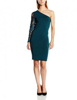 ONLY Damen One-Shoulder Kleid Onlcinderella One Shoulder Dress Ess, Mini, Gr. 38 (Herstellergröße: M), Blau (Reflecting Pond) - 1