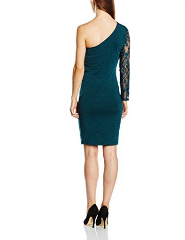 ONLY Damen One-Shoulder Kleid Onlcinderella One Shoulder Dress Ess, Mini, Gr. 38 (Herstellergröße: M), Blau (Reflecting Pond) - 2