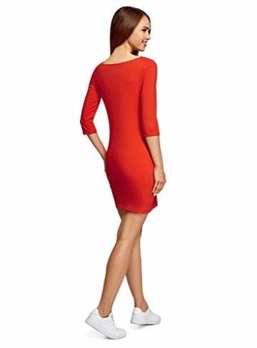 oodji Ultra Basic Mini Kleid Orange 3