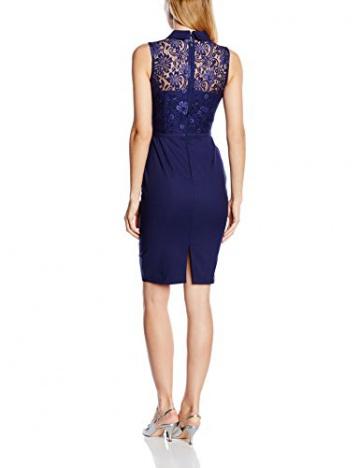 Paper Dolls Damen Kleid Gr. 36, Blau - Blau (Marineblau) - 2