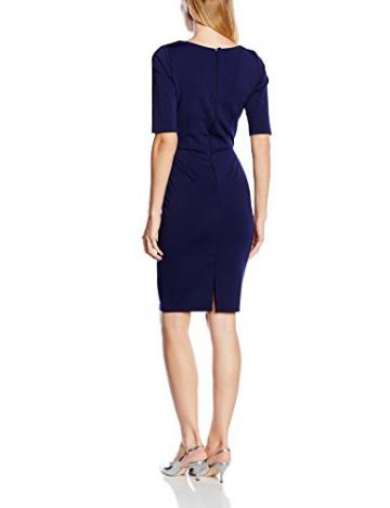 Paper Dolls Damen Kleid Gr. 40, Blau - Blau (Marineblau) - 2