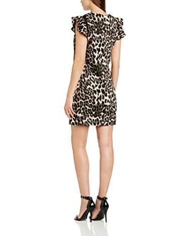 Paper Dolls Damen TUnika Kleid, Gr. 36, mehrfarbig(Leopardenmuster) - 2