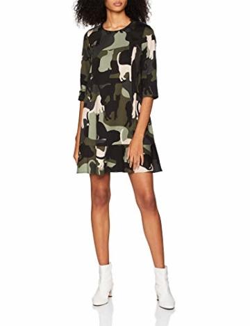 Paul & Joe Sister Damen Kleid 8SILVIA, Mehrfarbig (Vert/Green 005), (Herstellergröße:40) - 1