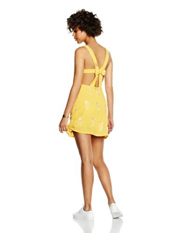 Pepa Loves Damen A-Linie Kleid, Gr. 34, Gelb - Jaune (Pineapple) -