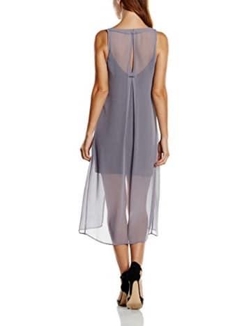 Pepe Jeans Damen Kleid, JUNE, GR. One size (Herstellergröße: M), Grau (Storm/Carbon) -