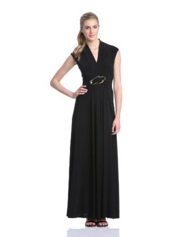 Phase Eight Cecelia - Kleid Maxi - Schwarz (Black), 34 (Herstellergröße: 8 UK) - 1