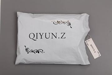 QIYUN.Z Sexy Frauen Mode Kurzen Ärmeln Bodycon Schlanke Neue Partei Club Mini-Kleid Hinten Offen Damen Kleid Jumpsuit Overall - 3
