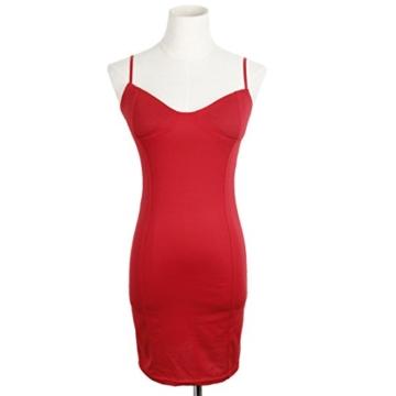 QIYUN.Z Sommer Kühl Halter Neck Sundress Frauen Bodycon Paket Hüfte Kurzes Kleid - 2