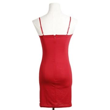 QIYUN.Z Sommer Kühl Halter Neck Sundress Frauen Bodycon Paket Hüfte Kurzes Kleid - 3