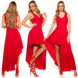 Red-Carpet Kleid Cocktail Abendkleid High Low