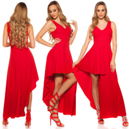 Red-Carpet Kleid Cocktail Abendkleid High Low