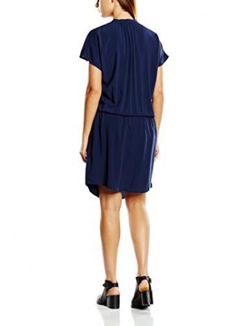 SAINT TROPEZ Damen Kleid N6010, Maxi, Gr. 34 (Herstellergröße: XS), Blau (B.Iris 9256) - 2