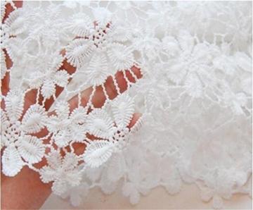 Saoirse Damen Weiß Sexy Lace Spitzen Kleid - 4