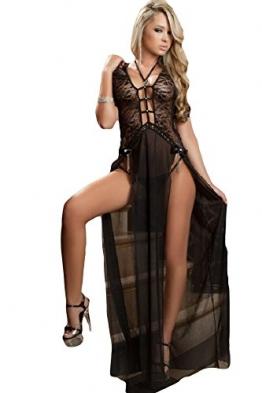 Saphira mode. Schwartz Luxe Delight Kleid - 1