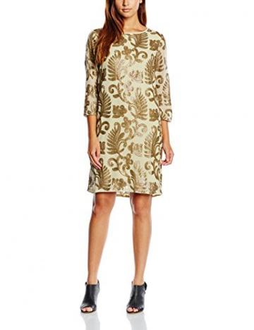 Selected Damen Kleid, Beige (lint), 36 - 1