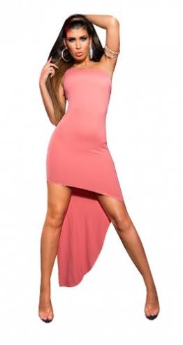 Sensationelles Vokuhila-Kleid im asymmetrischen Style S - 1