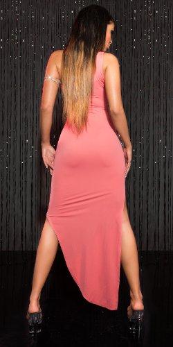 Sensationelles Vokuhila-Kleid im asymmetrischen Style S - 4