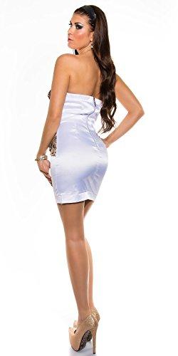 Sexy Bandeau Cocktail-Kleid mit Reißverschluss Koucla by In-Stylefashion SKU 0000K-98506 - 3