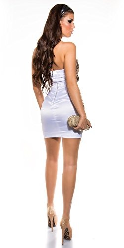 Sexy Bandeau Cocktail-Kleid mit Reißverschluss Koucla by In-Stylefashion SKU 0000K-98506 - 6