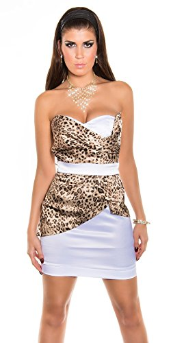 Sexy Bandeau Cocktail-Kleid mit Reißverschluss Koucla by In-Stylefashion SKU 0000K-98506 - 7
