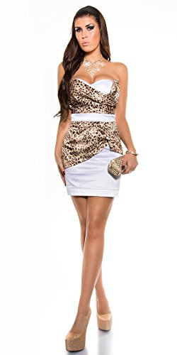Sexy Bandeau Cocktail-Kleid mit Reißverschluss Koucla by In-Stylefashion SKU 0000K-98506 - 8
