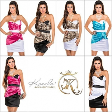 Sexy Bandeau Cocktail-Kleid mit Reißverschluss Koucla by In-Stylefashion SKU 0000K-98506 - 9