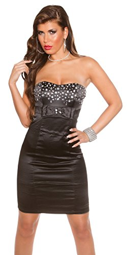 Sexy Bandeau Cocktail-Kleid mit Strasssteinen Koucla by In-Stylefashion SKU 0000K441422 -