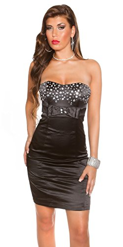 Sexy Bandeau Cocktail-Kleid mit Strasssteinen Koucla by In-Stylefashion SKU 0000K441422 -