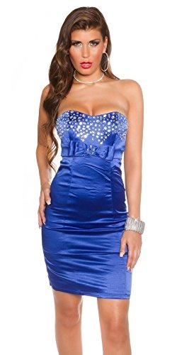 Sexy Bandeau Cocktail-Kleid mit Strasssteinen Koucla by In-Stylefashion SKU 0000K441403 - 1