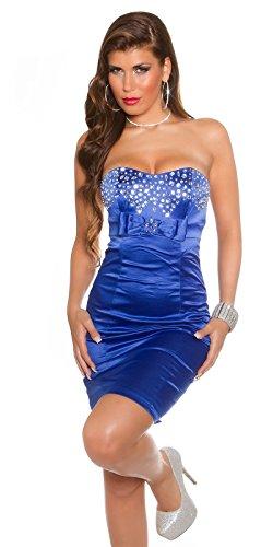Sexy Bandeau Cocktail-Kleid mit Strasssteinen Koucla by In-Stylefashion SKU 0000K441403 - 3