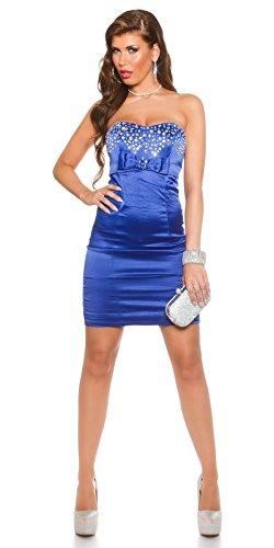 Sexy Bandeau Cocktail-Kleid mit Strasssteinen Koucla by In-Stylefashion SKU 0000K441403 - 7