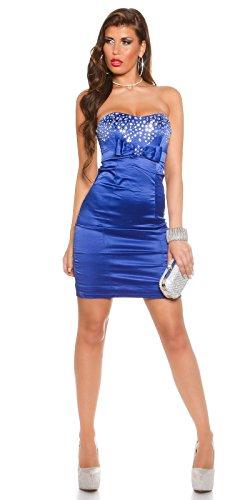 Sexy Bandeau Cocktail-Kleid mit Strasssteinen Koucla by In-Stylefashion SKU 0000K441403 - 8