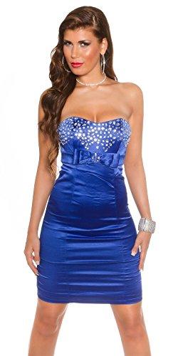 Sexy Bandeau Cocktail-Kleid mit Strasssteinen Koucla by In-Stylefashion SKU 0000K441403 - 9