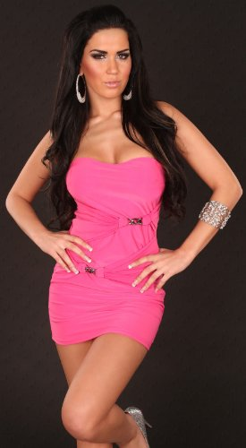 Sexy Bandeau-Minidress with chains Koucla by In-Stylefashion SKU 0000K8057204 - 2