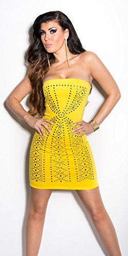 Sexy Bandeau-minidress with studs Koucla by In-Stylefashion SKU 0000ISF62007506 - 3