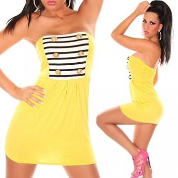 Sexy bandeau Minikleid im Military-Look Koucla by In-Stylefashion SKU 0000AVO3001 - 2
