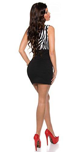 Sexy Business Kleid mit Wasserfall-Ausschnitt Koucla by In-Stylefashion SKU 0000KIS6138 -