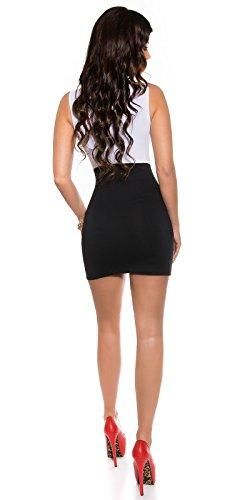 Sexy Business Kleid mit Wasserfall-Ausschnitt Koucla by In-Stylefashion SKU 0000KIS6134 -