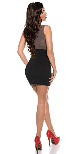 Sexy Business Kleid mit Wasserfall-Ausschnitt Koucla by In-Stylefashion SKU 0000KIS6102 - 2