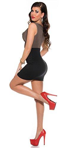 Sexy Business Kleid mit Wasserfall-Ausschnitt Koucla by In-Stylefashion SKU 0000KIS6102 - 5