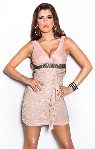 Sexy Cocktailkleid mit strassbesetzter Borte Koucla by In-Stylefashion SKU 0000K406107 -